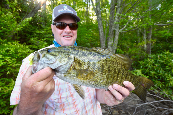 THE SMALLMOUTH TRAIN IS ROLLING