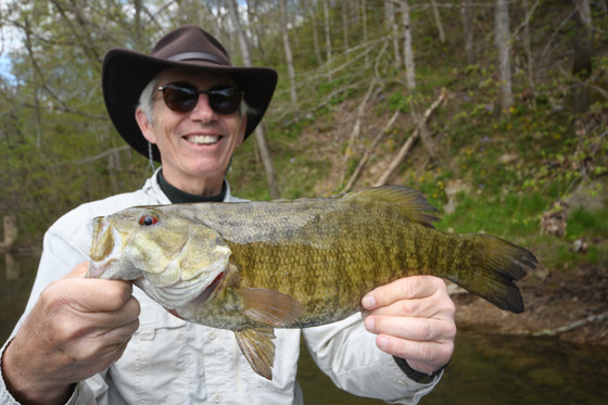 SPRING SMALLMOUTH FISHING IN FULL SWING