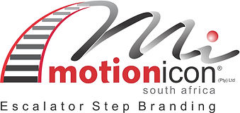 Motion Icon South Africa - Escalator Step Branding