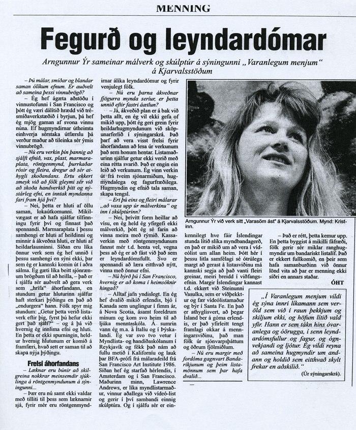 Morgunblaðið 1991