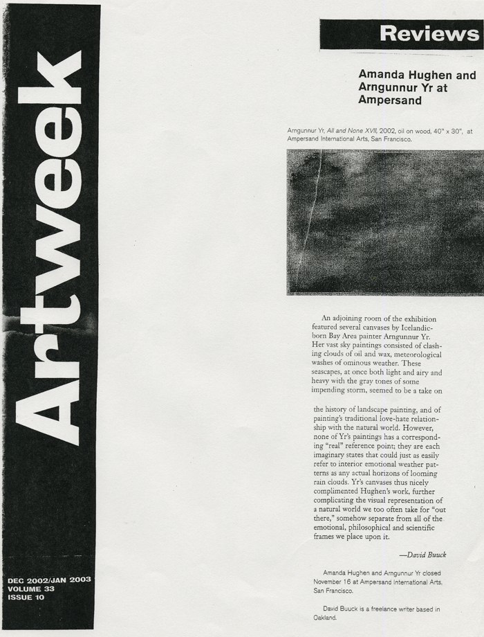 Artweek 2005
