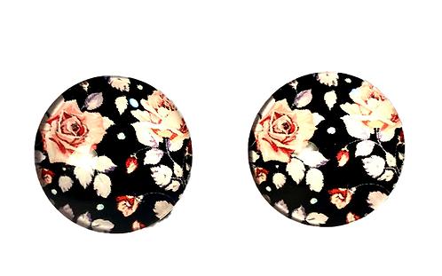 Black n'Pink Flower
