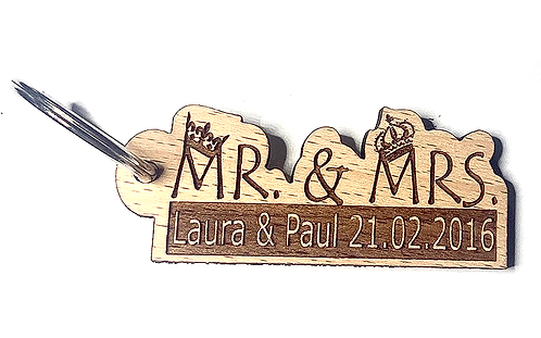 Mr and Mrs. Crown personalisiert