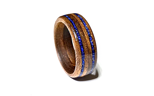 Nuss Douple-Blue Glitter Inlay