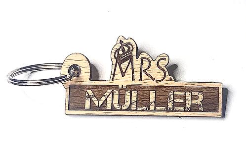 Mrs. personalisiert