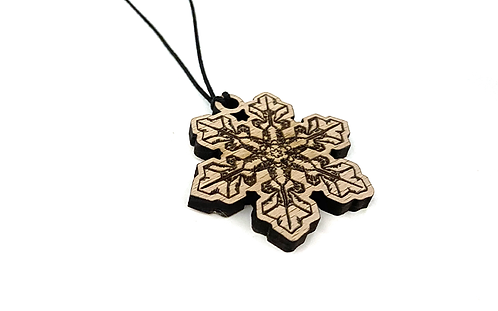 Chrystal Snowflake Necklace