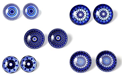Blue Mandala Mix 1
