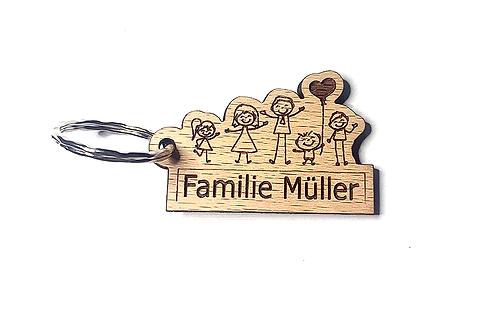 Familie personalisiert