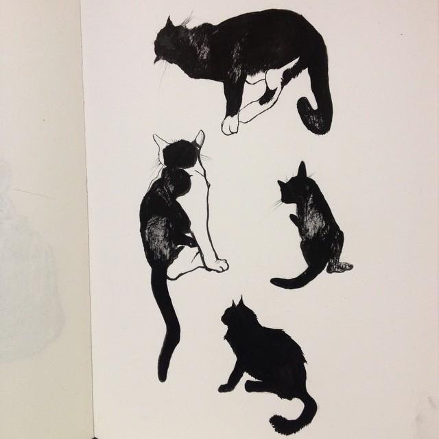 #inkcats