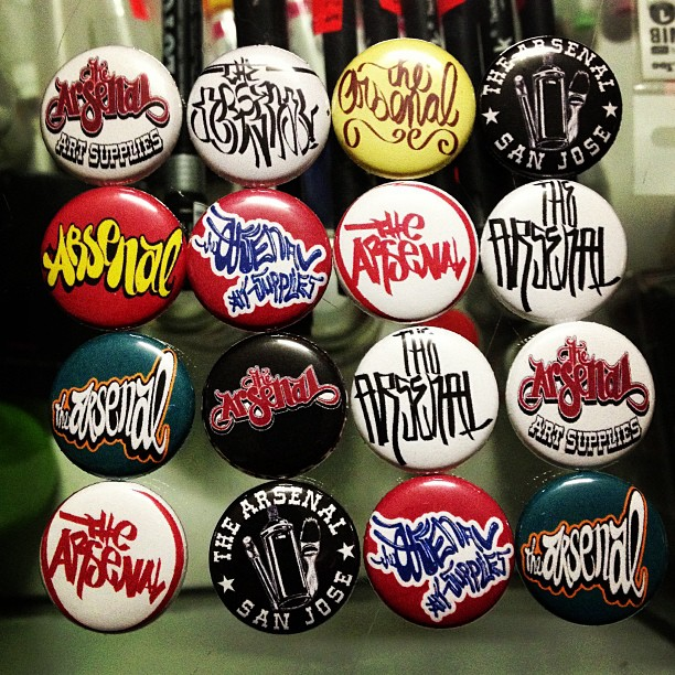 Stop in for arsenal buttons