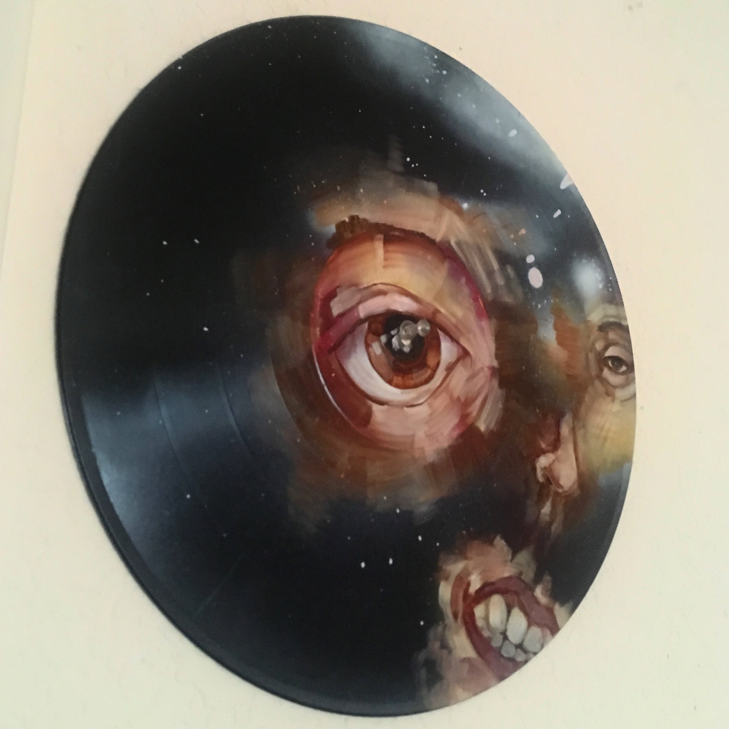 record painting