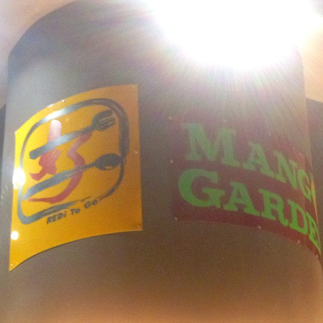 Painted the signs there too #mangogarden