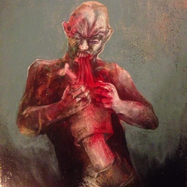 zombie leg burrito