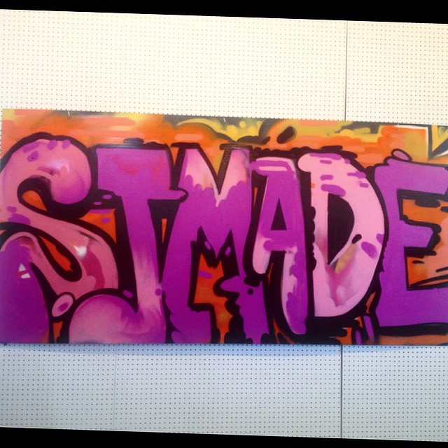 Painted a sign for _sjmade yesterday