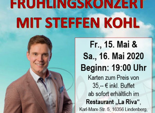 Frühlingskonzert mit Steffen Kohl