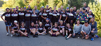 MS Global 2016 Ride Group Shot Lake Placid, NY