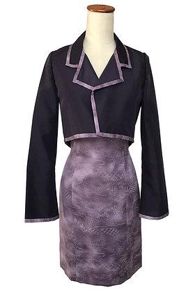 Purple Peonies dress