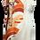 Thumbnail: Ivory satin Butterflies dress