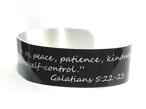 Bible or Quote Bracelet