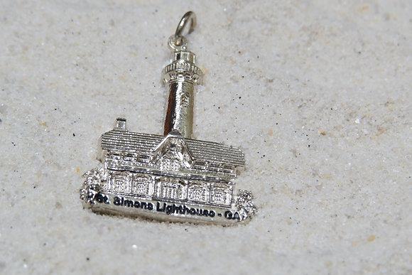 St. Simons Lighthouse Charm/Pendant