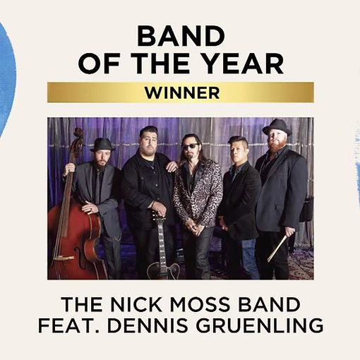 Nick Moss Band - 2020 Blues Music Awards
