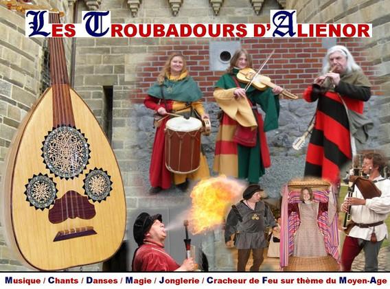 A la cour d'Aliénor d'Aquitaine