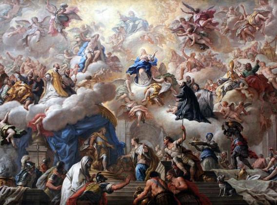 L'esthétique baroque et le goût de la démesure: exubérance décorative, grandeur pompeuse, effets dramatiques