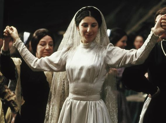 A fiddler on the roof