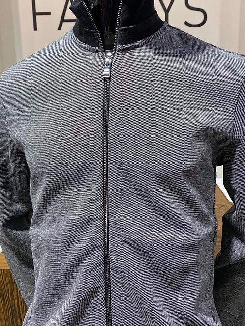 Hugo Boss Black zip up knit
