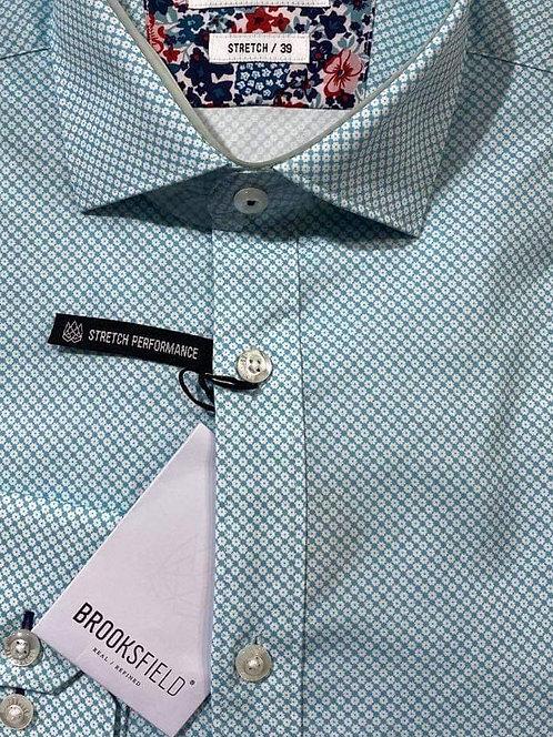 Brooksfield mint shirt