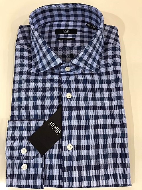 Hugo Boss check business shirt