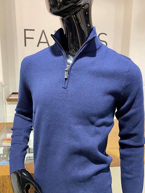 Superdry half zip cotton top