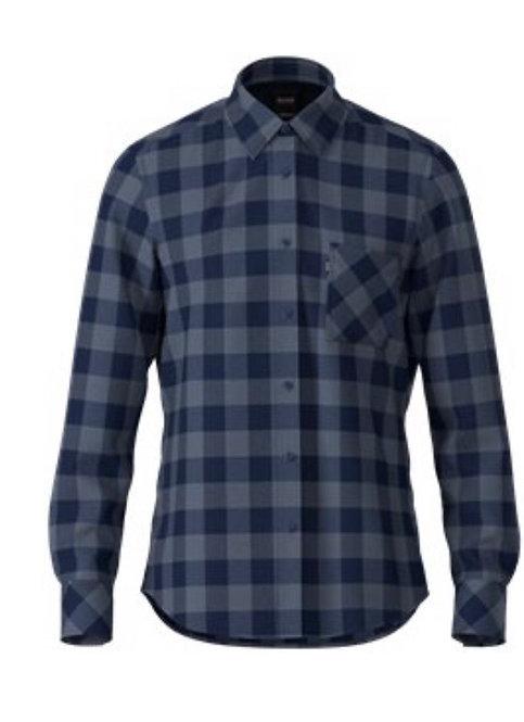 Hugo Boss heavy brushed cotton shirt
