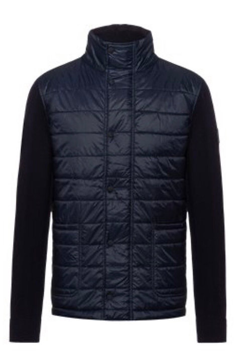 Hugo Boss quilted knit jacket