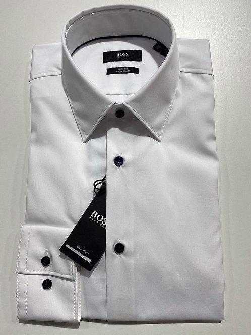 Hugo Boss white slim fit shirt