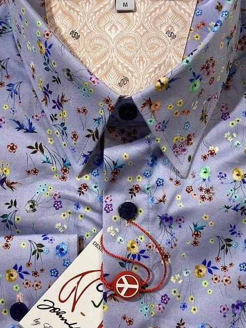 John Lennon flower print shirt
