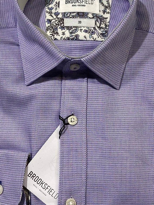 Brooksfield blue business shirt