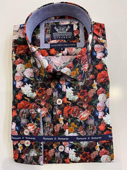 wild floral shirt