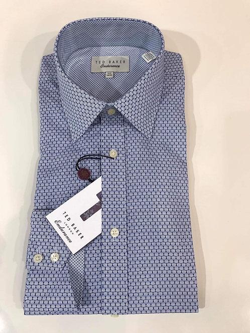 Ted Baker micro diamond print endurance shirt