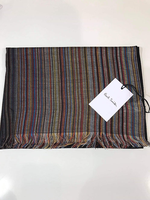 Paul Smith multi stripe scarf