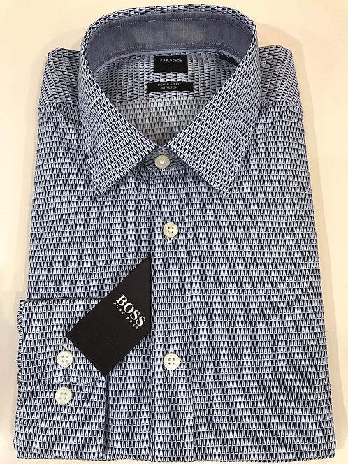Hugo Boss micro print business shirt