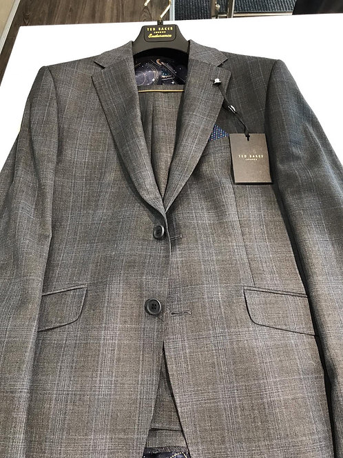 Ted Baker grey check suit