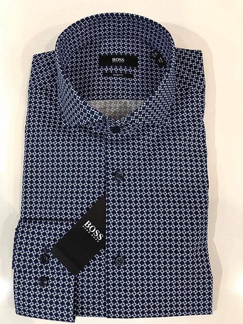 Hugo Boss printed business shirt