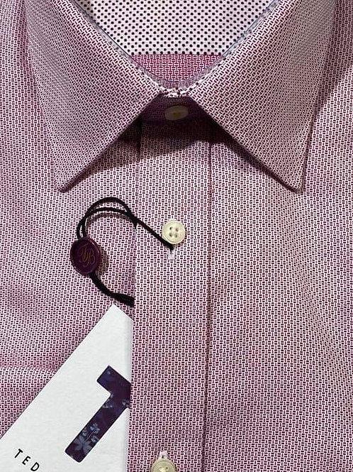 Ted Baker Pink dobby shirt