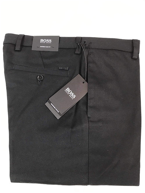 Hugo Boss black slim fit trouser