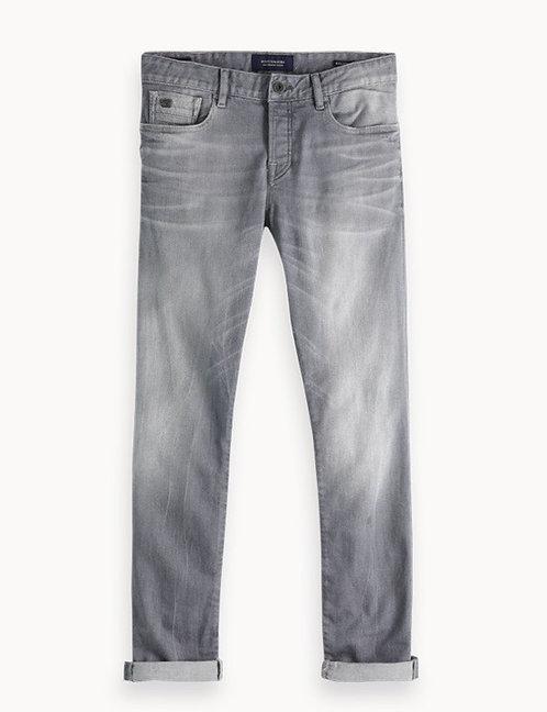 Scotch & Soda grey wash jean