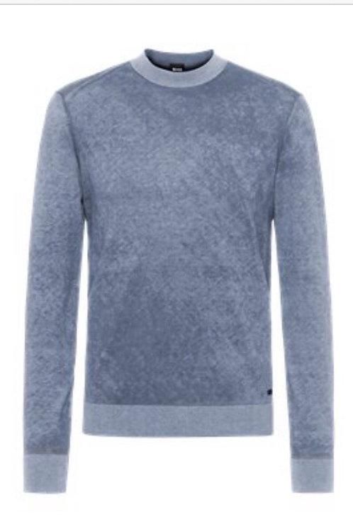 Hugo Boss pale blue knitwear
