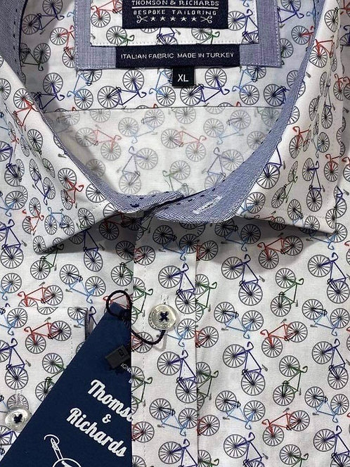 Cycle Print shirt