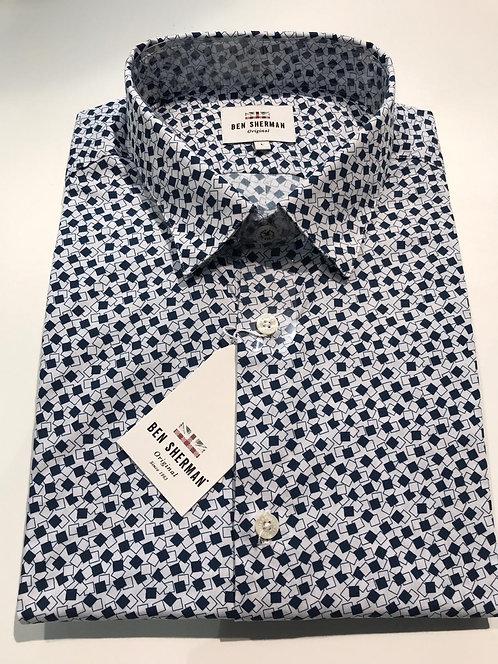 Ben Sherman small print shirt