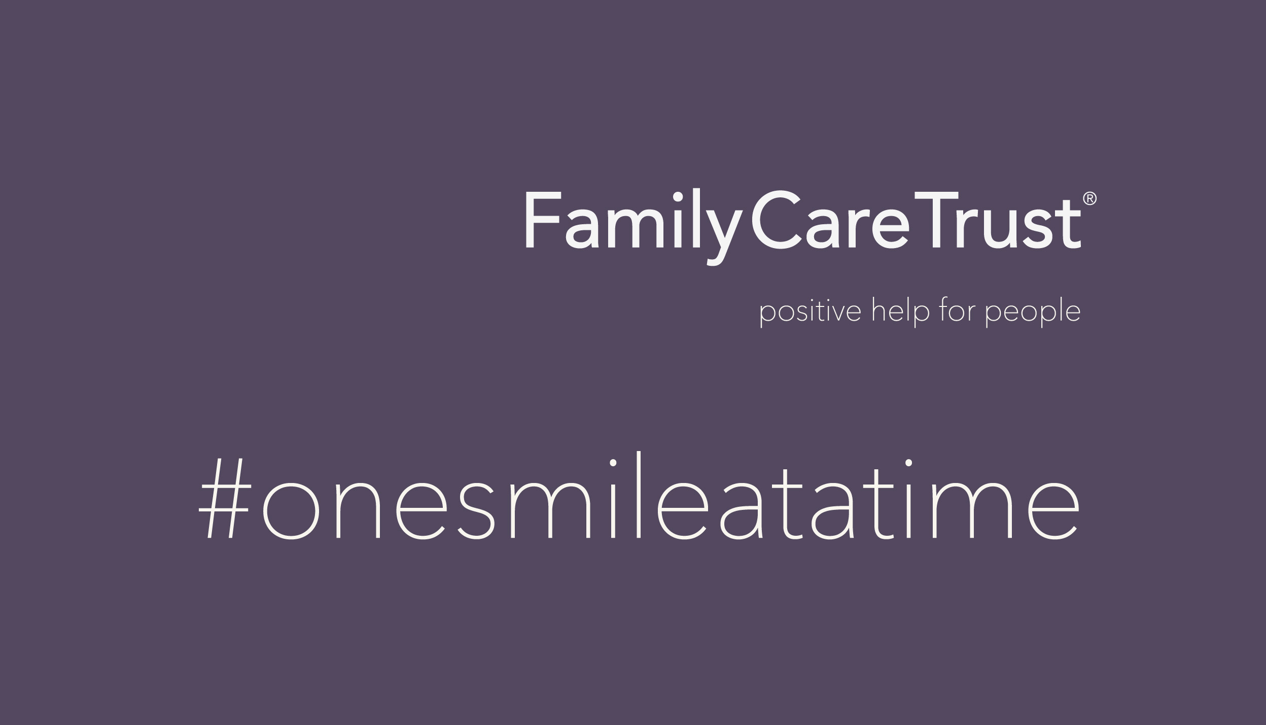 Family Care Trust New Branding